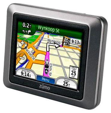 garmin zumo 210 gps navigation technische daten bewertung. Black Bedroom Furniture Sets. Home Design Ideas